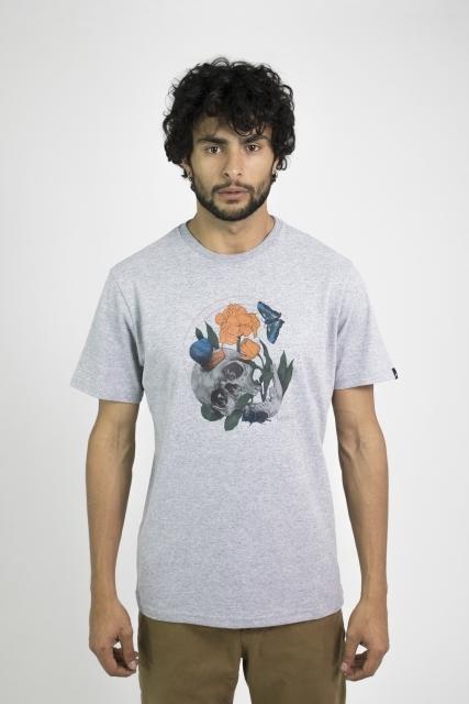 T-shirt Regular Skull Flower T-shirt Regular Skull Flower MCD MCD