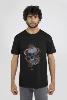 T-shirt Regular Skull Octopus MCD