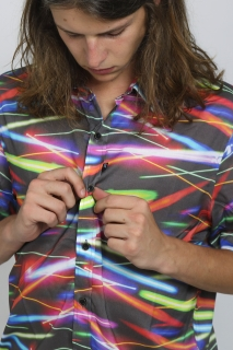 Camisa Mc Lights And Lasers Lost